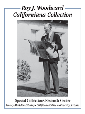 Roy J. Woodward Californiana Collection Bookplate