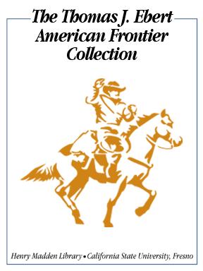 Thomas J. Ebert American Frontier Collection Bookplate