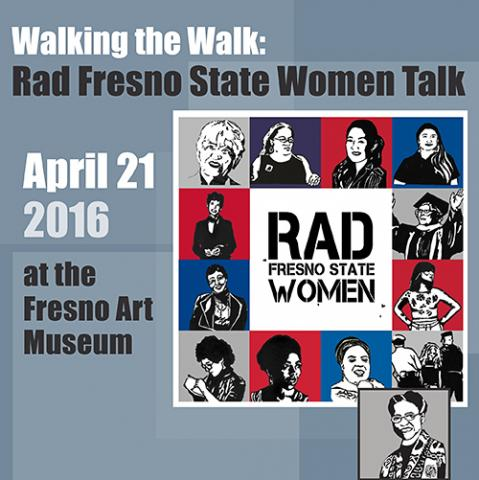 RAD Walking the Walk event poster.