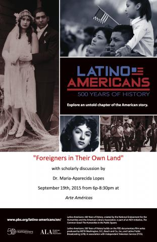 Poster for Latino Americans: 500 Years of History