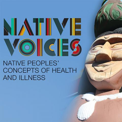 Event poster for Native Voices.