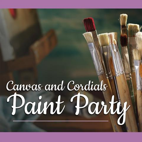 Canvas and Cordials, Paint Party
