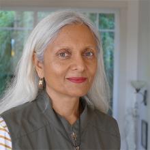 Canadian author, Uma Krishnaswami